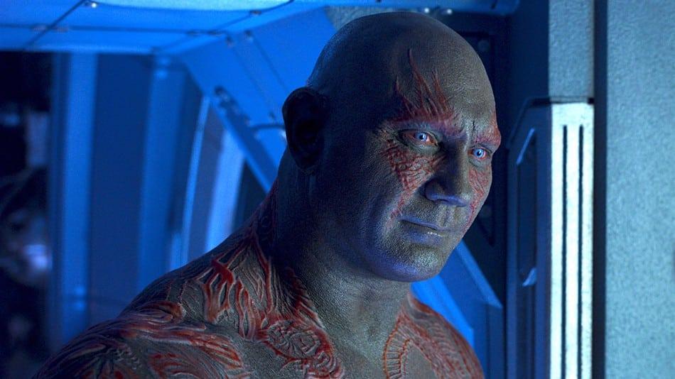 Dave Bautista regresará para Guardians of the Galaxy Vol.  3, pero resultará 'bastante nauseabundo' trabajar para Disney