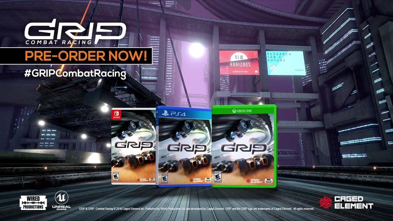GRIP: Combat Racing tiene fecha de lanzamiento y nuevo trailer