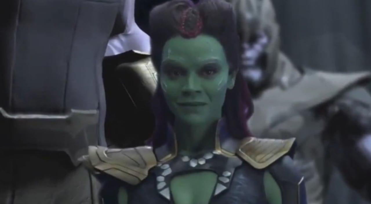 Thanos y Gamora tienen una relación sincera en la escena eliminada de Avengers: Infinity War