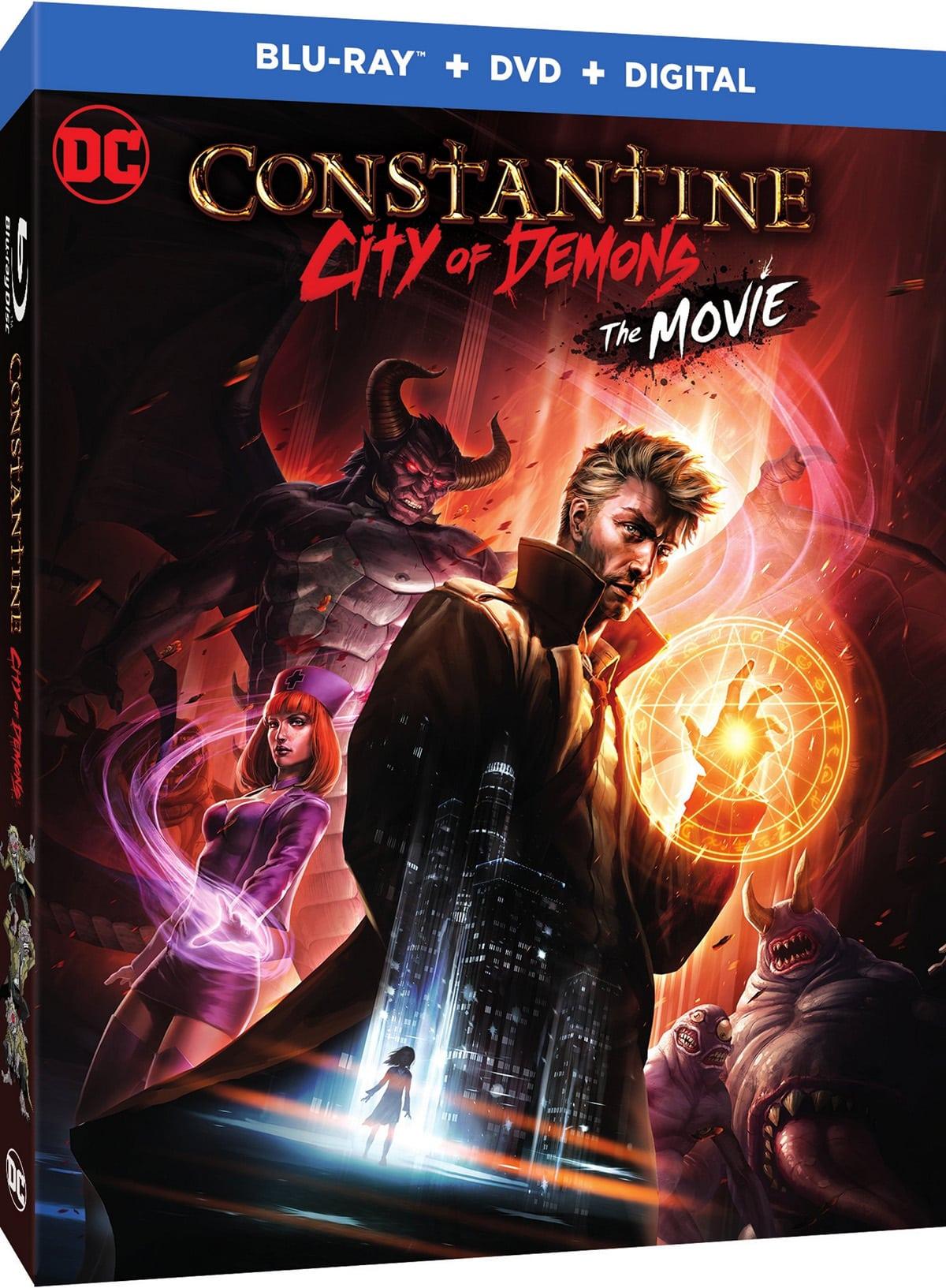 Detalles de Blu-ray de Constantine: City of Demons revelados, nuevo tráiler lanzado