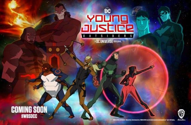 Young Justice: Outsiders será 'más maduro y un poco más oscuro'