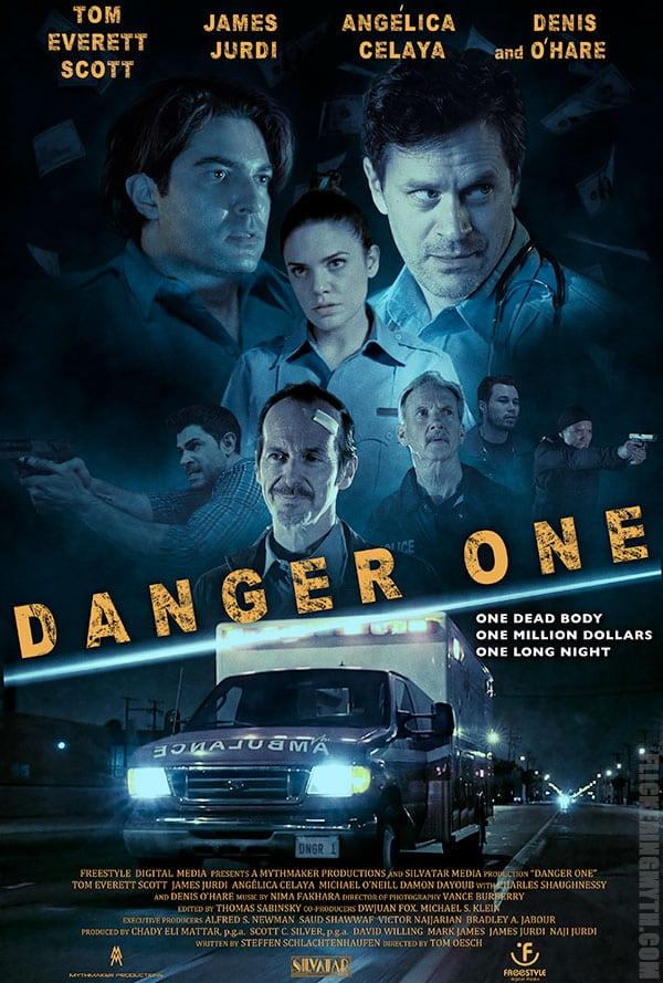 Aspecto exclusivo del póster de Danger One protagonizado por Tom Everett Scott