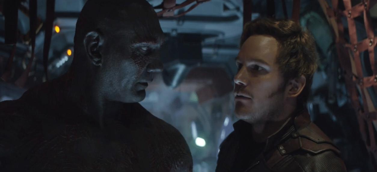 The Guardians of the Galaxy aparece en la escena eliminada de Avengers: Infinity War