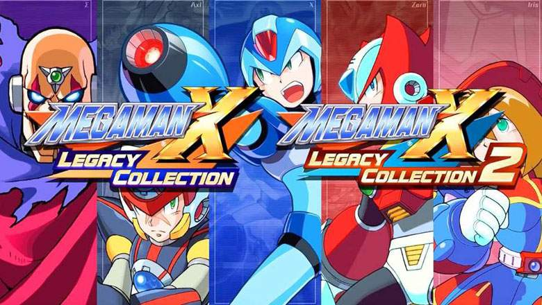 Mega Man X Legacy Collection 1 & 2 llega a Norteamérica