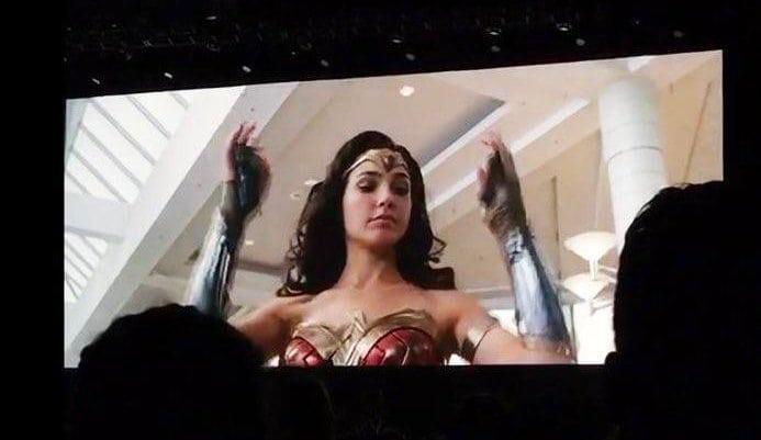 Parte de las imágenes de Comic-Con de Wonder Woman 1984 se filtran en línea