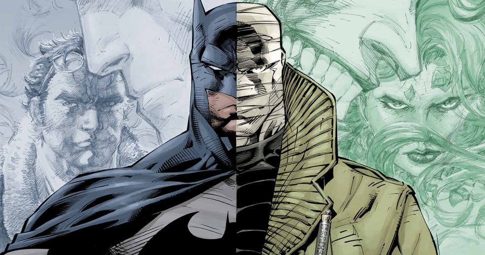 DC anuncia la lista de películas animadas de 2019 que incluye Batman: Hush y Wonder Woman: Bloodlines