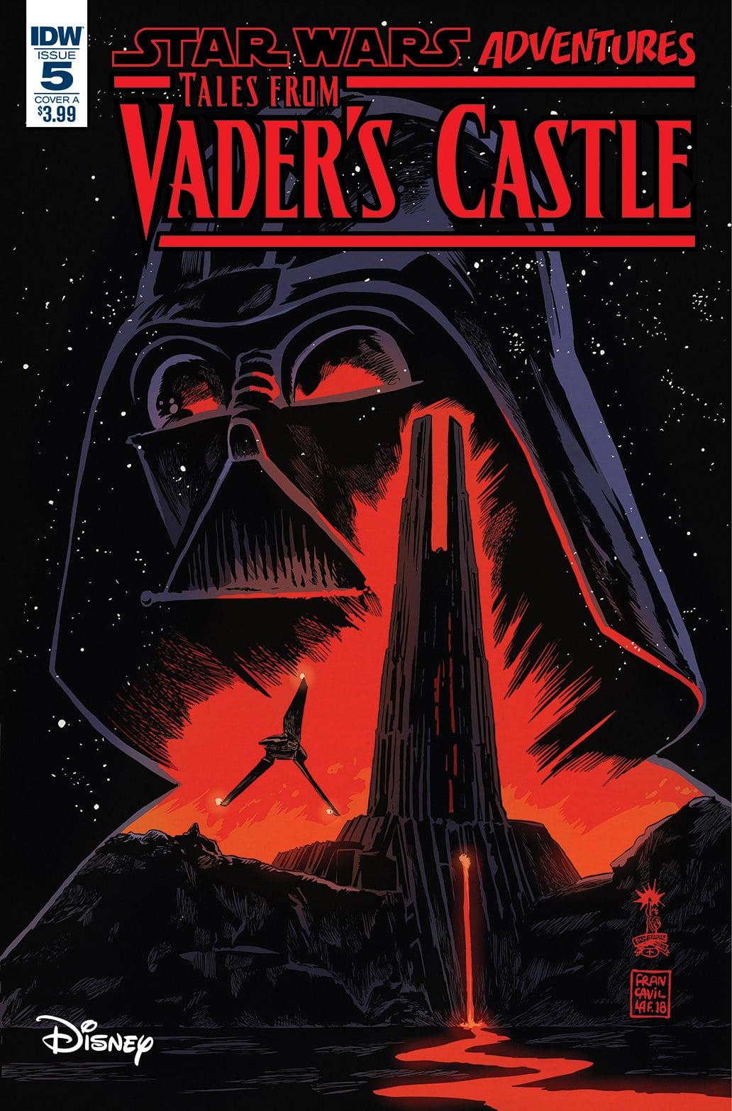 Star Wars Adventures: Tales from Vader's Castle para entregar historias espeluznantes en una galaxia muy, muy lejana