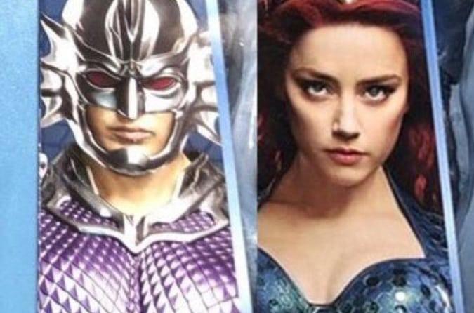 Ocean Master y Mera aparecen en el nuevo arte promocional de Aquaman