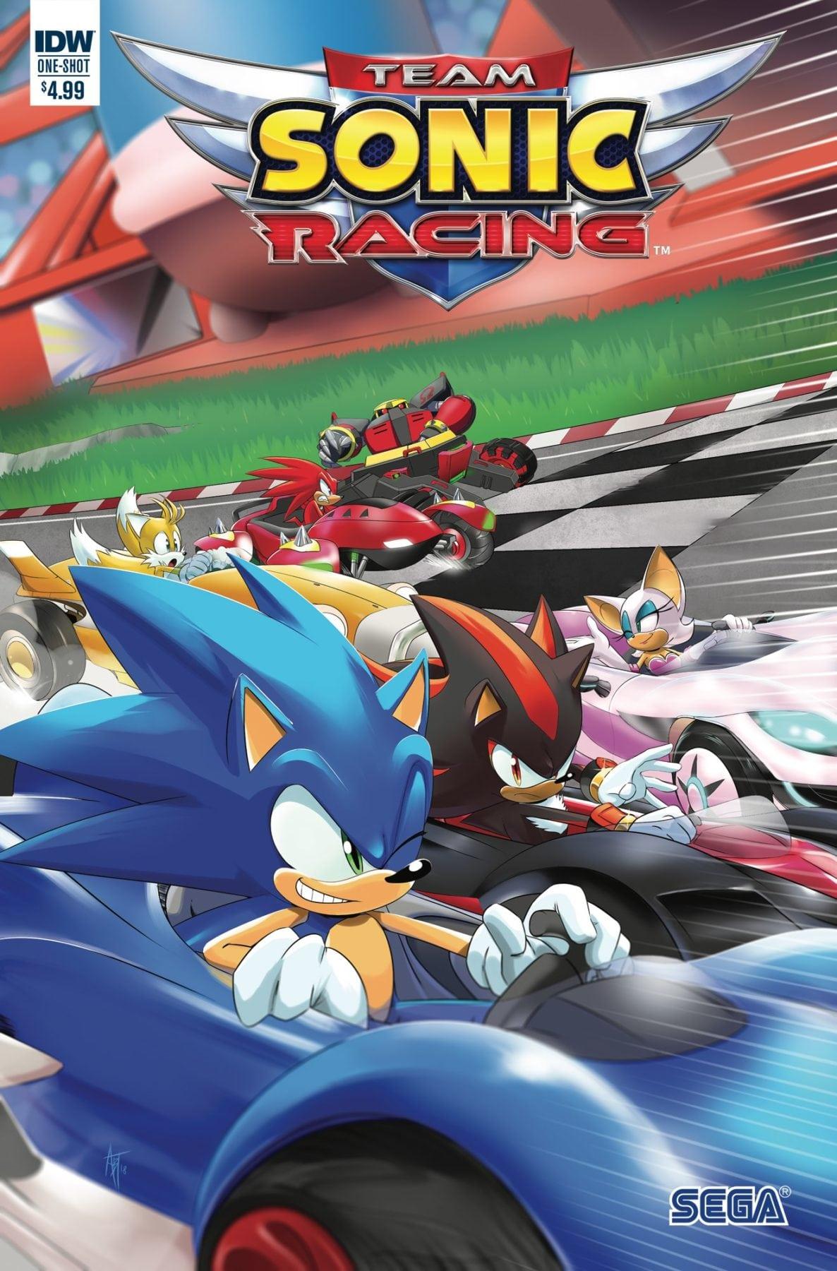 IDW y SEGA anuncian especial de cómic Team Sonic Racing