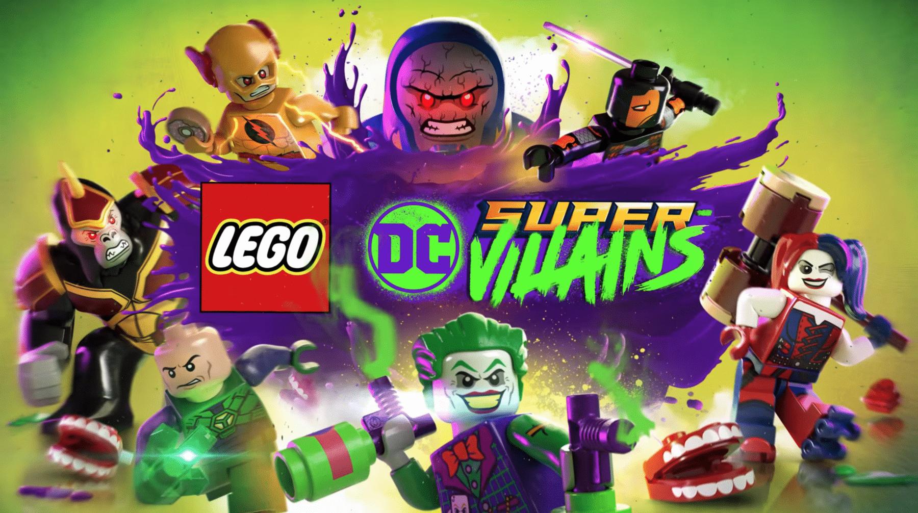 Primer trailer de LEGO DC Super-Villains revelado en San Diego Comic-Con