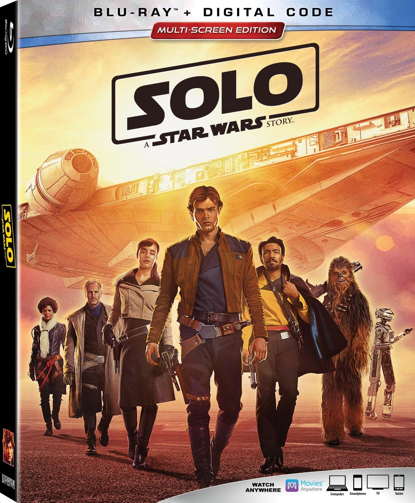 Solo: A Star Wars Story Detalles de Blu-ray, características especiales y escenas eliminadas reveladas