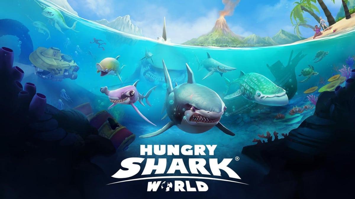 Hungry Shark World ahora se alimenta de consolas