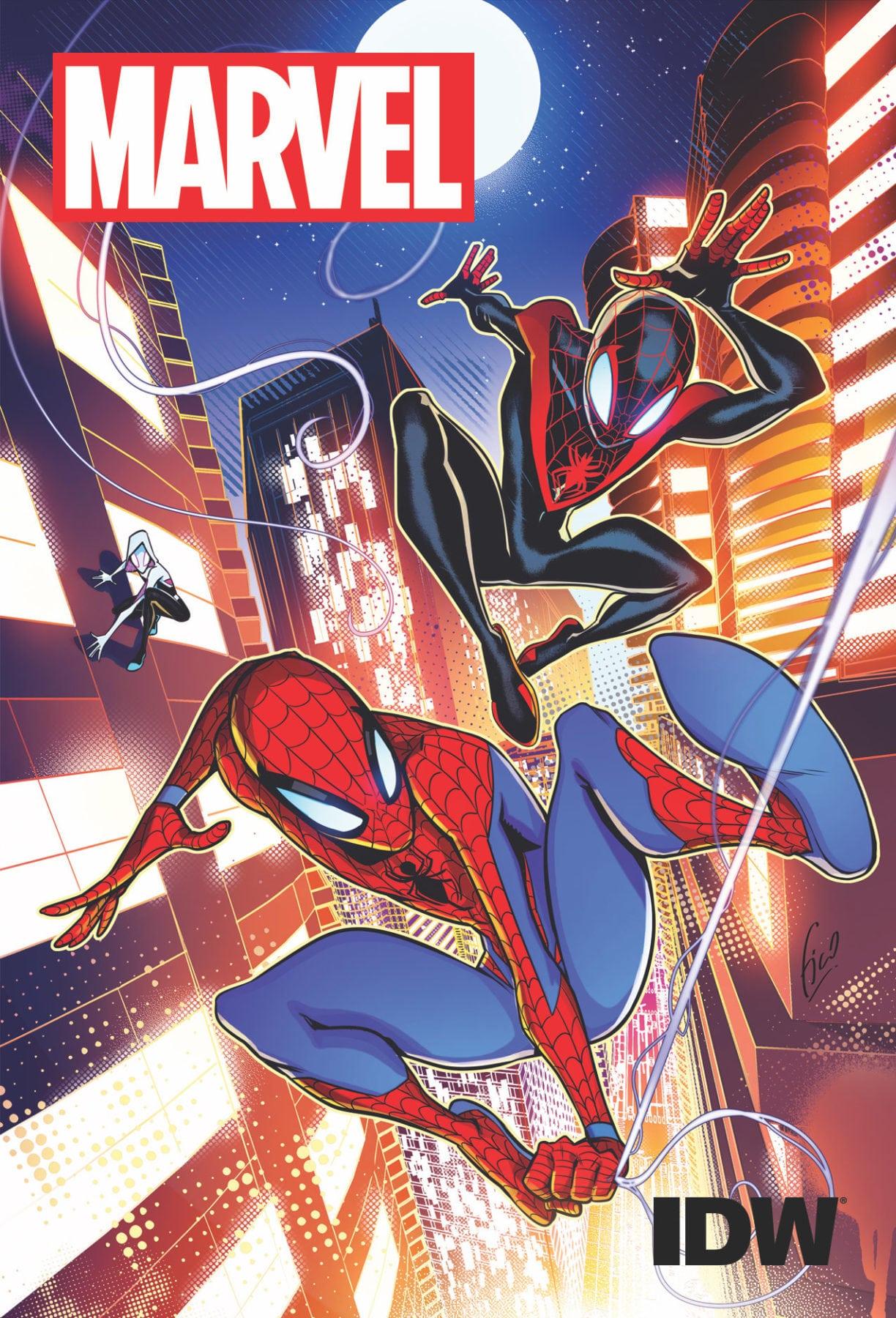 Marvel e IDW se unen para producir nuevos cómics para lectores más jóvenes
