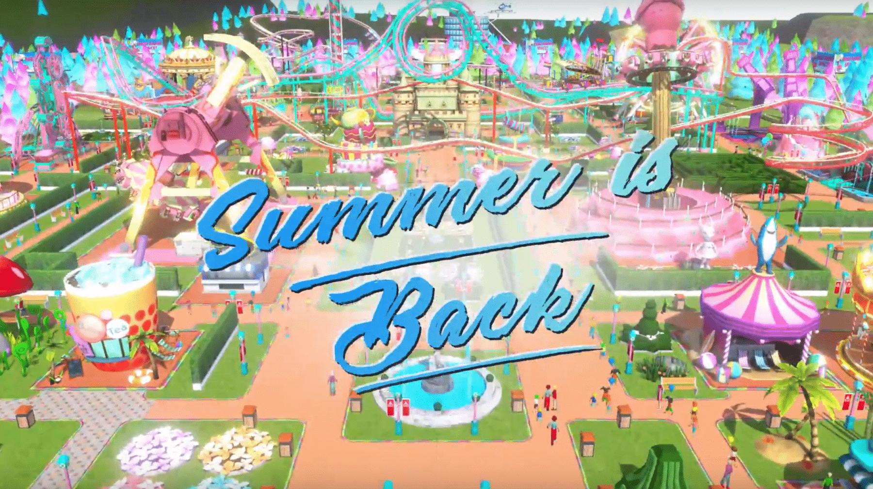 Disfruta del sol con la actualización de RollerCoaster Tycoon Touch Summer