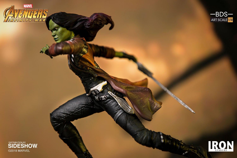 Iron Gamora Avengers: Infinity War Battle Diorama Series estatua disponible para pre-pedido