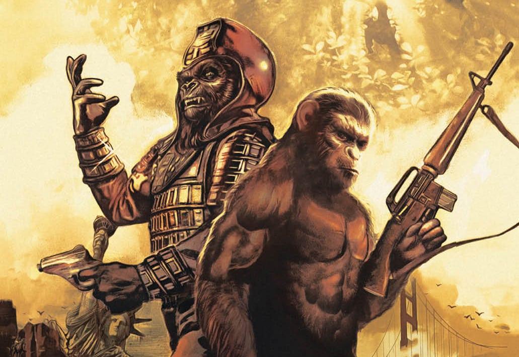 ¡Auge!  Studios celebra el 50 aniversario de Planet of the Apes con dos especiales