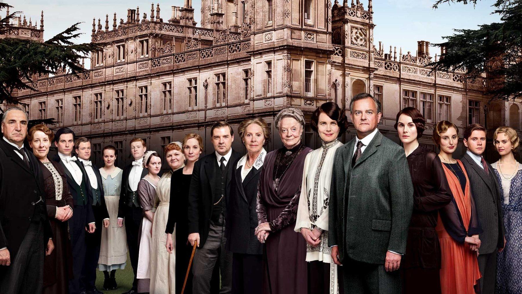 La película Downton Abbey comienza la producción, el elenco original regresa