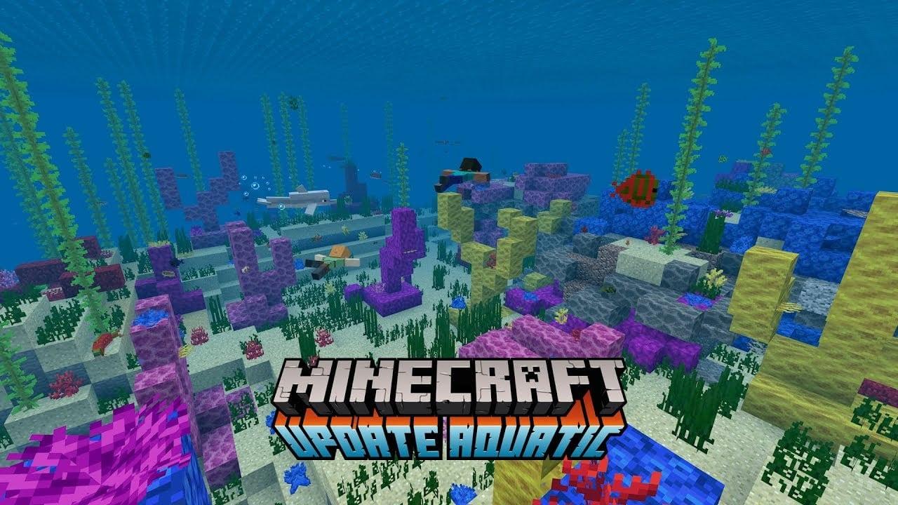 Minecraft Update Aquatic trae más razones para explorar las profundidades salobres