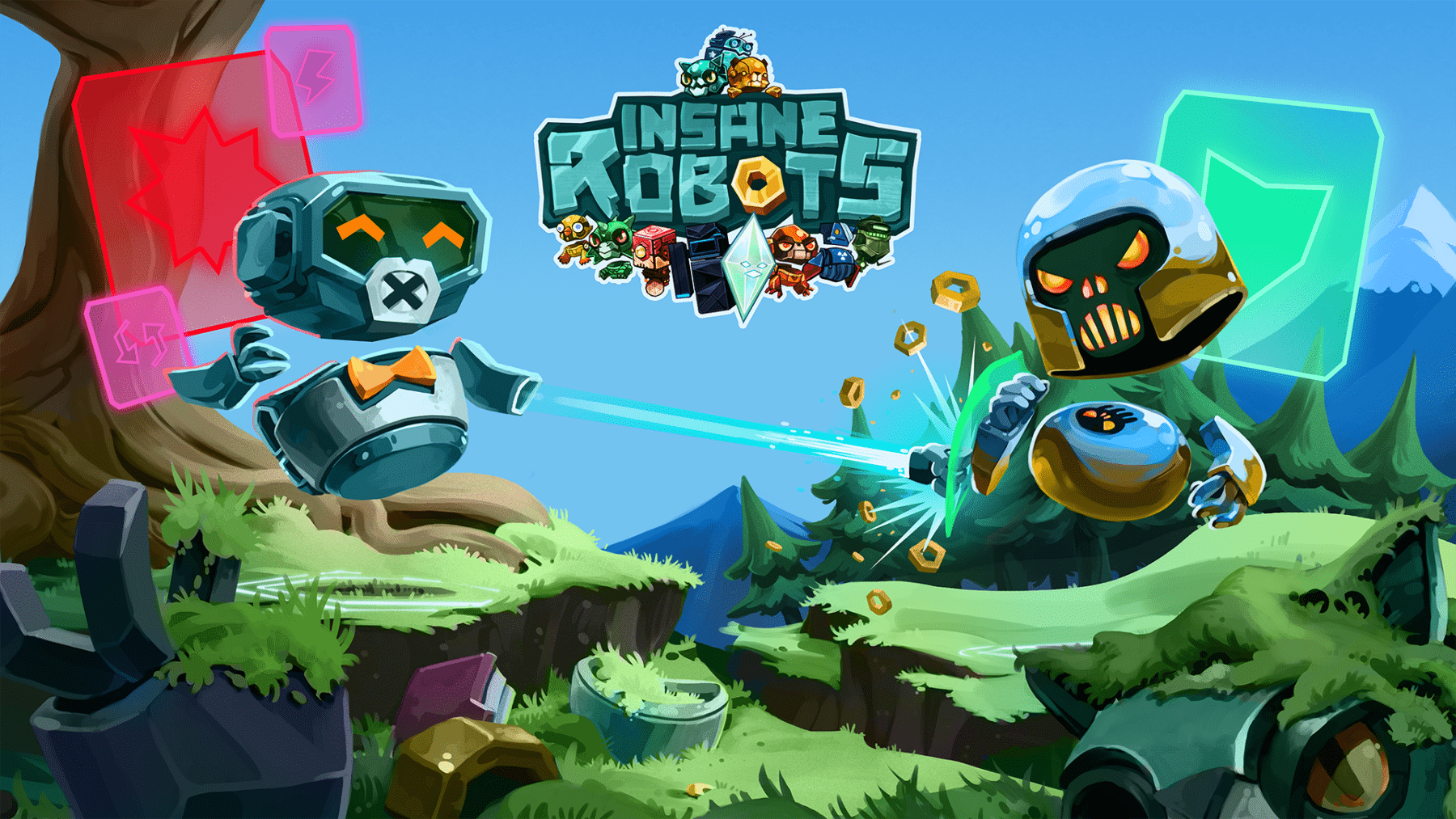 Crazy Card Battler Insane Robots ya disponible en Playstation 4