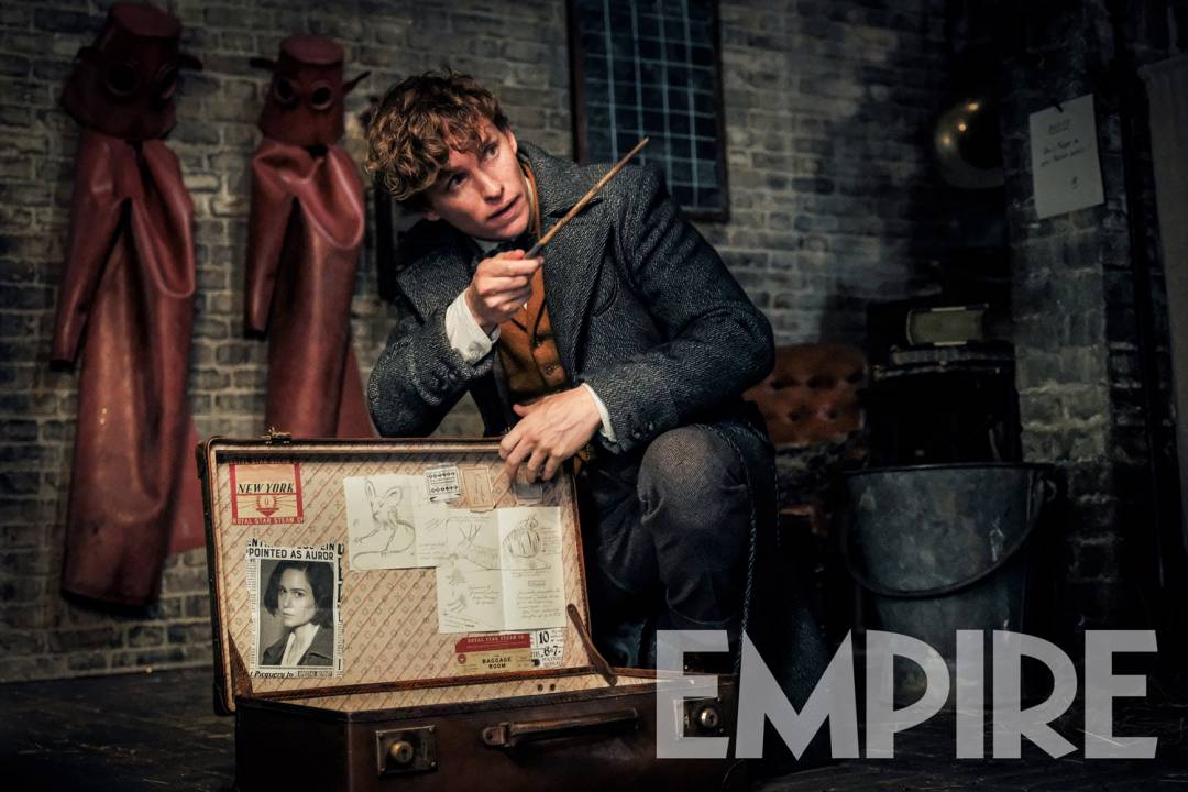 Newt Scamander de Eddie Redmayne aparece en una nueva imagen de Animales fantásticos: los crímenes de Grindelwald