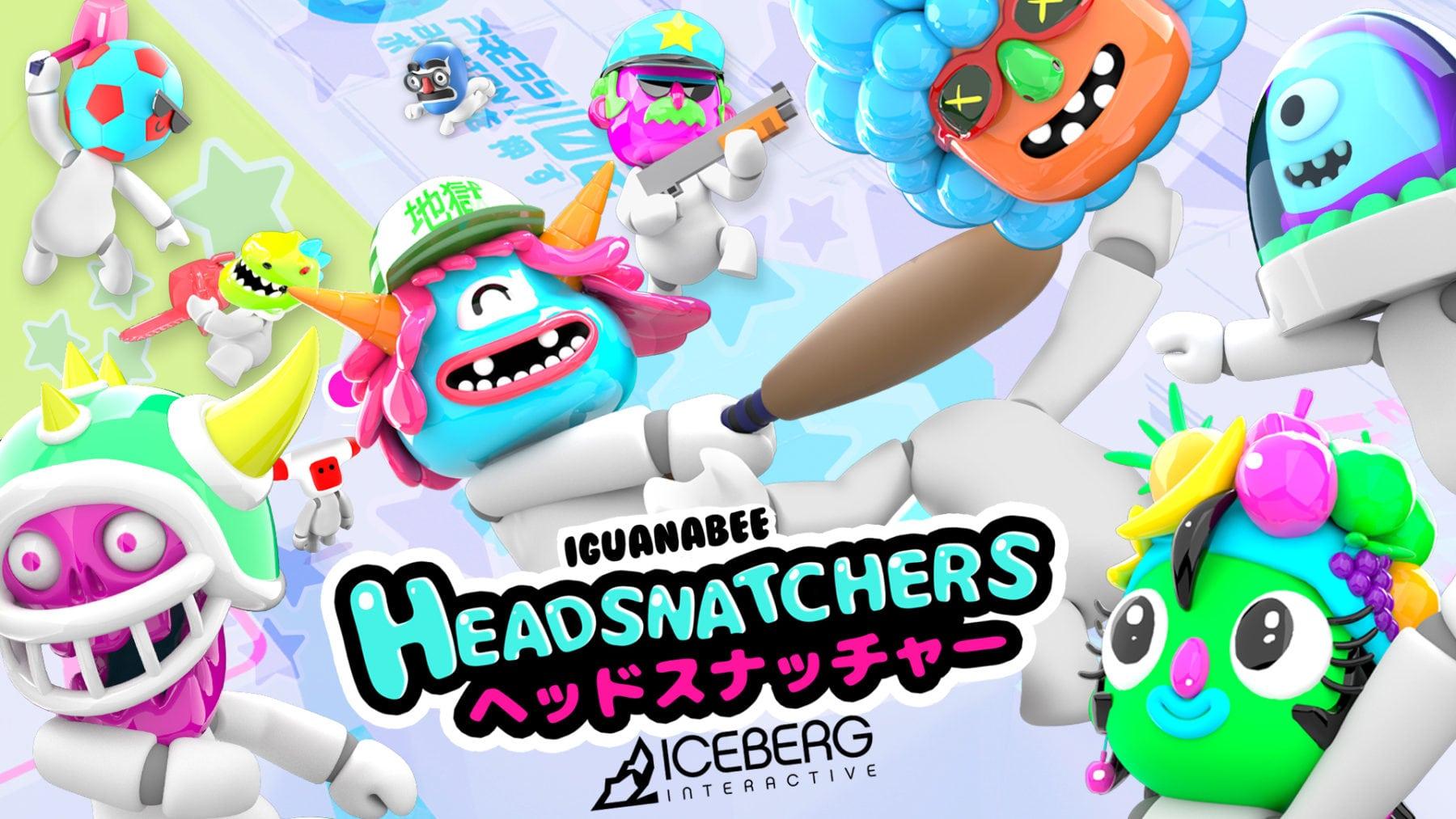 Nuevo avance del juego de Headsnatchers lanzado antes del lanzamiento del martes