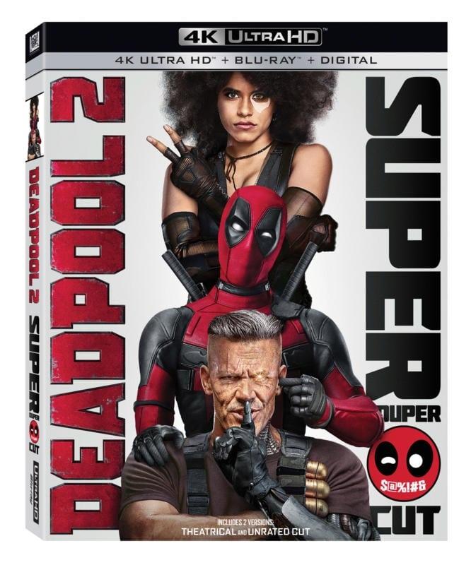 Extended Deadpool 2 Super Duper $ @%! # & Cut llegará a Blu-ray y 4K Ultra HD
