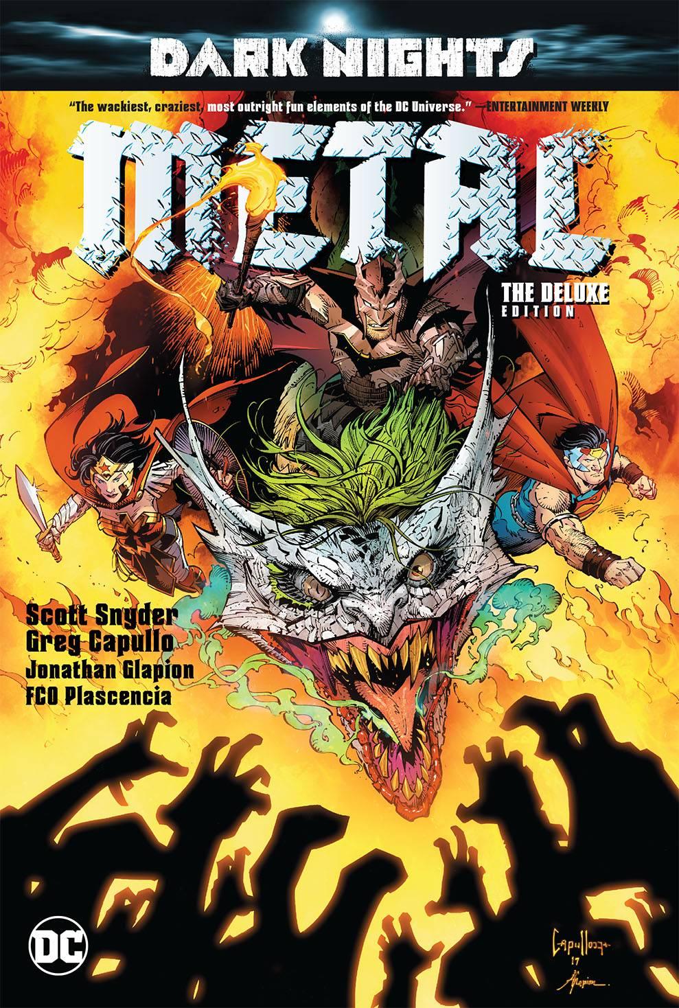 Justice League y Dark Nights: los mejores cómics y novelas gráficas de metal de junio de 2018
