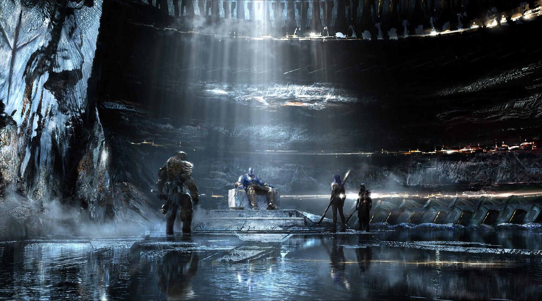 El nuevo arte conceptual de Marvel's Avengers: Infinity War llega en línea