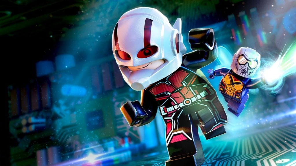 Marvel's Ant-Man and the Wasp Character and Level Pack ahora disponible para LEGO Marvel Super Heroes 2