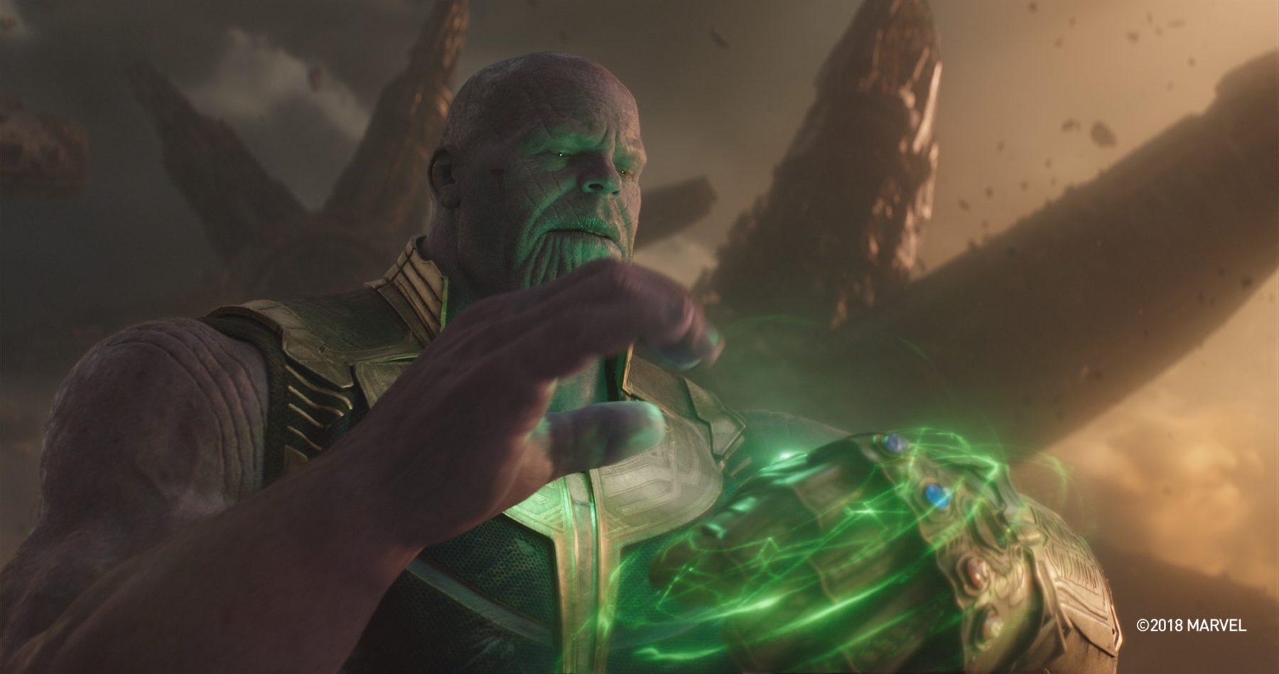 Josh Brolin comparte su reacción al ver por primera vez la muerte de Avengers: Infinity War
