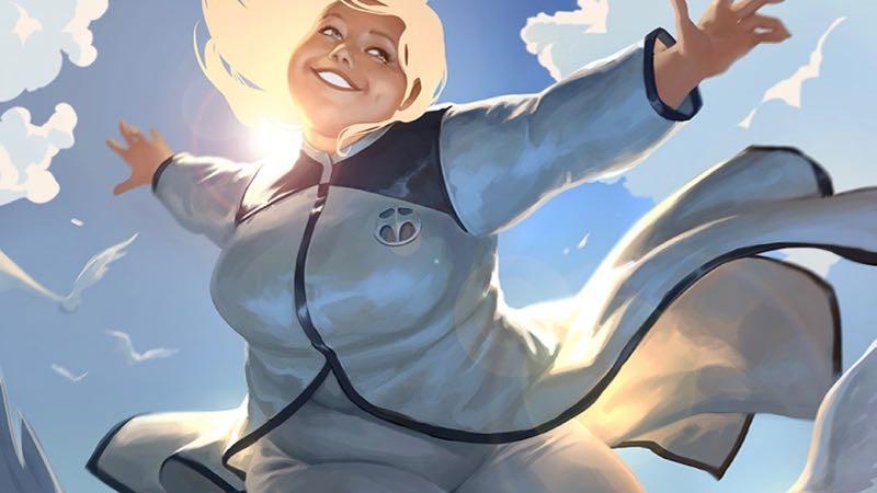 Sony desarrolla adaptación cinematográfica del superhéroe de talla grande Faith de Valiant