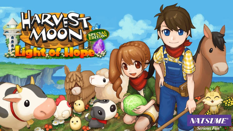 Harvest Moon: Light of Hope Special Edition ahora disponible para Nintendo Switch y PS4