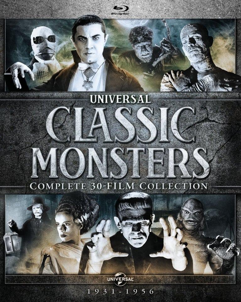 Universal anuncia los monstruos clásicos: colección completa de 30 películas