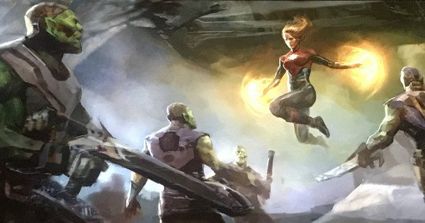 La campaña de marketing del Capitán Marvel todavía tiene unos meses, dice Kevin Feige de Marvel