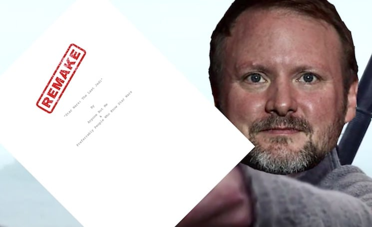 Los fanáticos enojados de Star Wars ofrecen financiar el remake de The Last Jedi, Rian Johnson responde