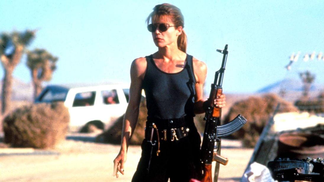 Linda Hamilton y Mackenzie Davis fueron vistas en el primer set de Terminator 6