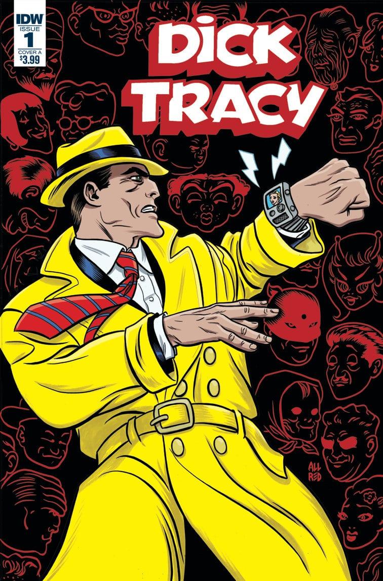 La justicia de mandíbula cuadrada vuelve a los cómics en Dick Tracy: Dead or Alive