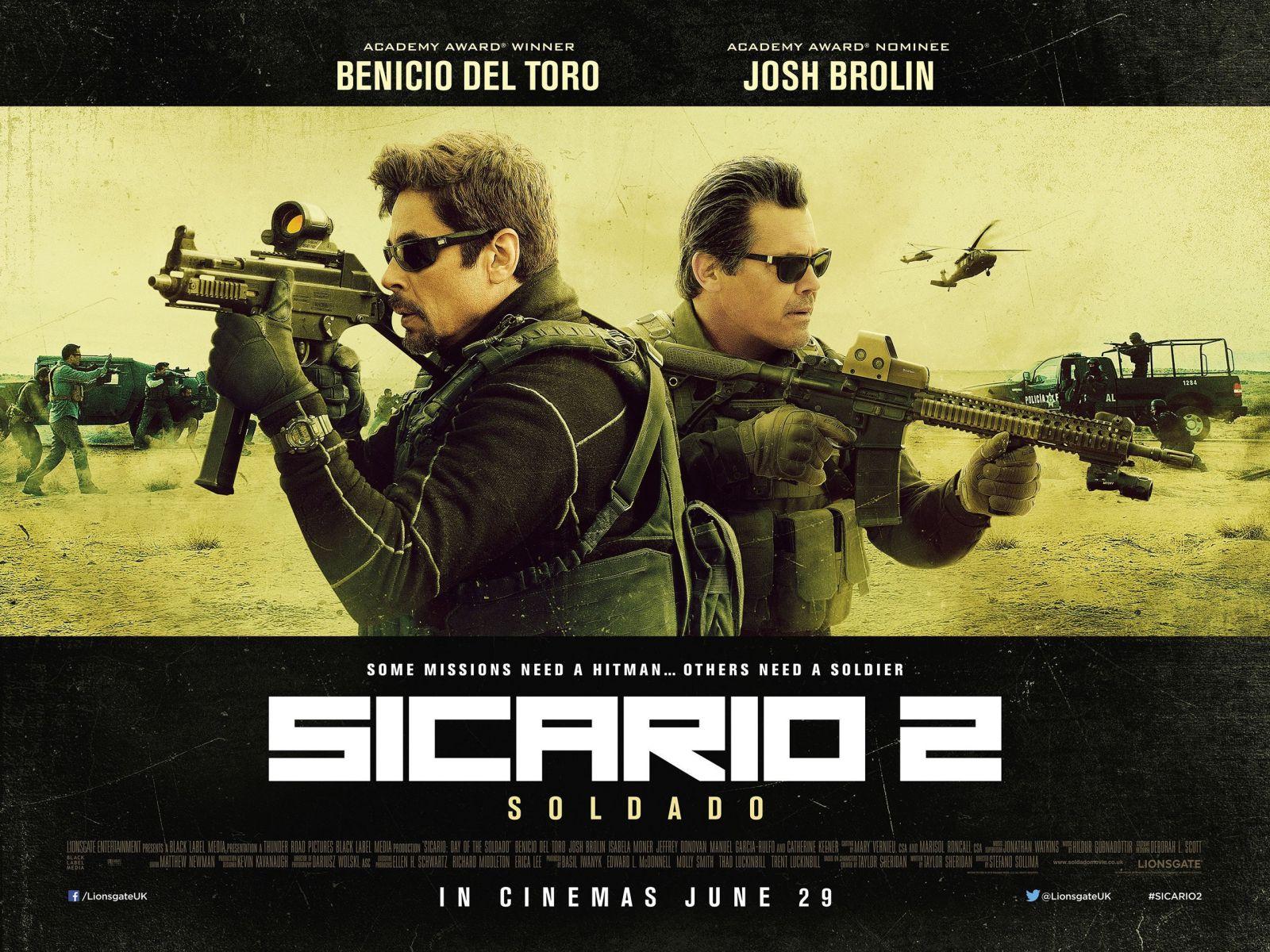 El guionista de Sicario ya ha planeado una tercera película