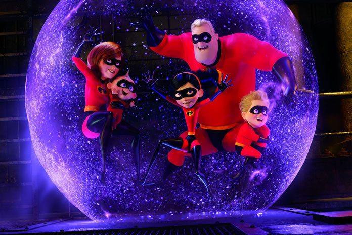 Incredibles 2 rompe récords de taquilla con un fin de semana de apertura de $ 180 millones