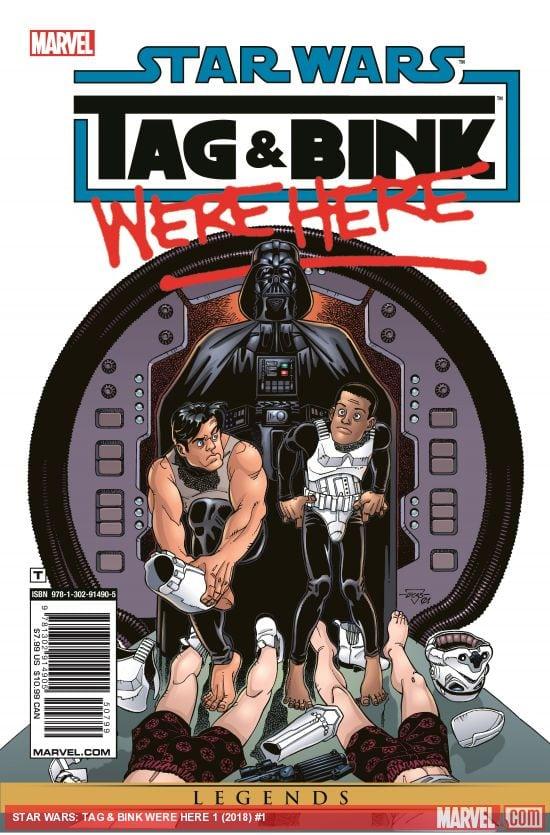 Amazing Spider-Man # 800 y Star Wars: Tag & Bink Were Here, los mejores cómics y novelas gráficas de mayo de 2018