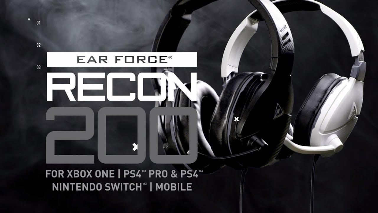 Turtle Beach revela dos nuevos auriculares: saluda al Recon 200 y Stealth 300