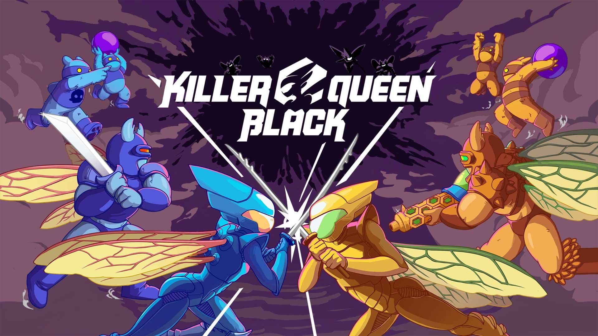 El juego de plataformas de acción arcade Killer Queen Black llegará a Nintendo Switch y PC a principios del próximo año