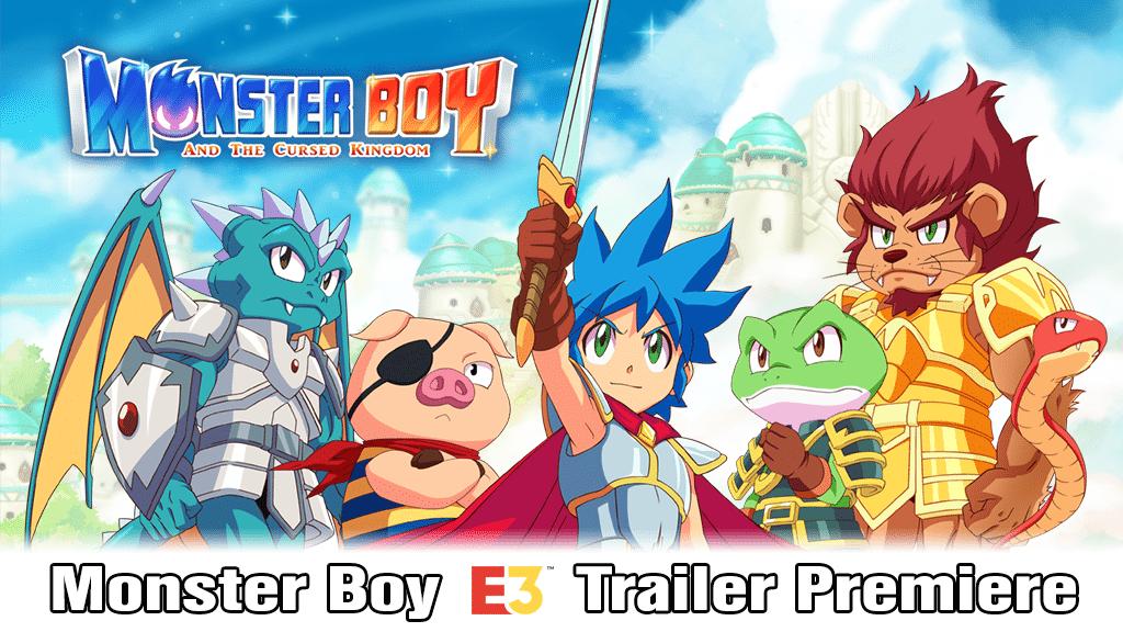 Nuevo trailer de Monster Boy y el Reino Maldito revelado antes del E3 2018