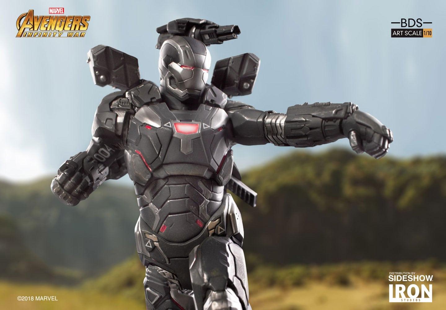 Se revela la estatua de diorama de War Machine Avengers: Infinity War Battle Diorama