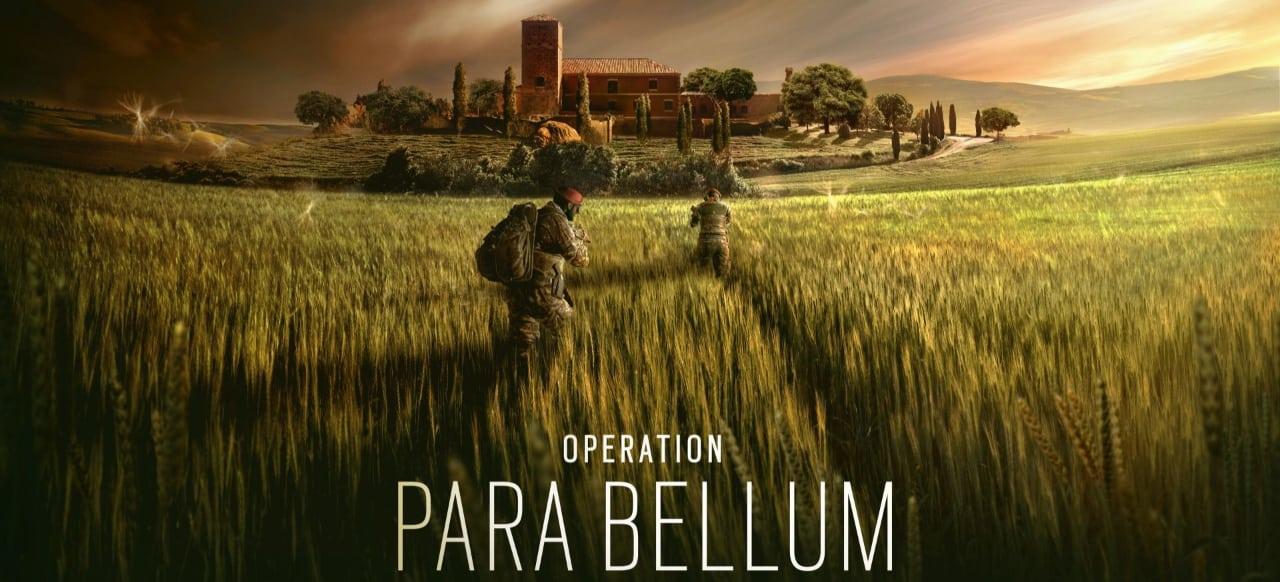 Operación Para Bellum ahora disponible para Tom Clancy's Rainbow Six Siege