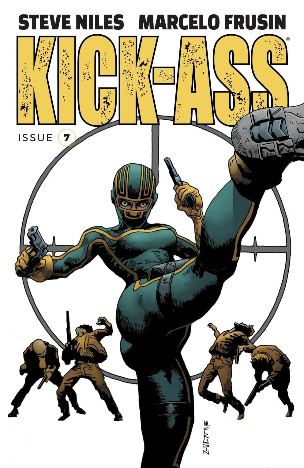 Kick-Ass # 7 presenta un nuevo equipo creativo y un nuevo arco de historia