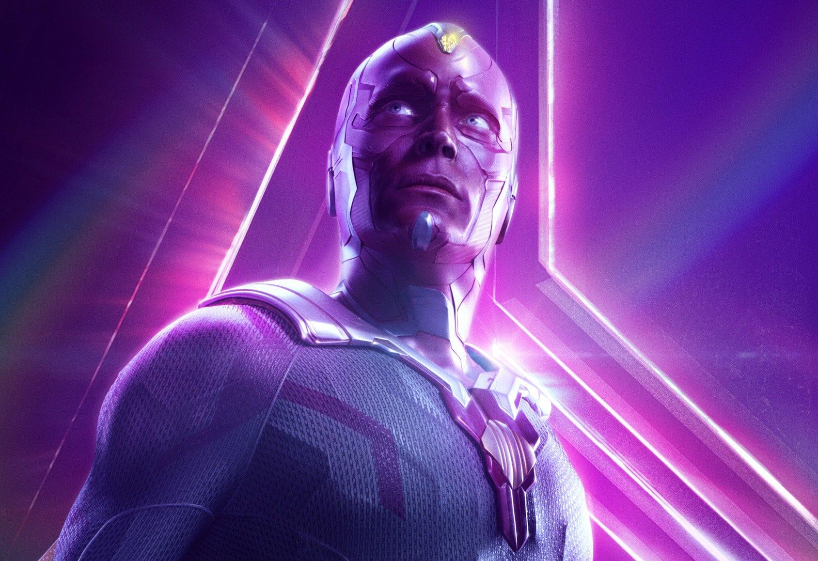 Paul Bettany comenta sobre el destino de Vision en Avengers: Infinity War