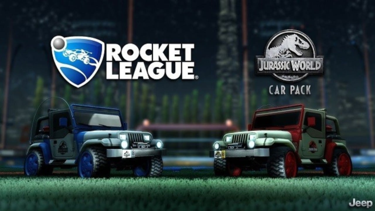 Jurassic World Car Pack llegará a Rocket League