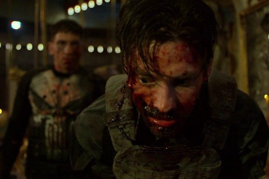 Frank Castle y Jigsaw intercambian disparos en The Punisher temporada 2 set video y fotos