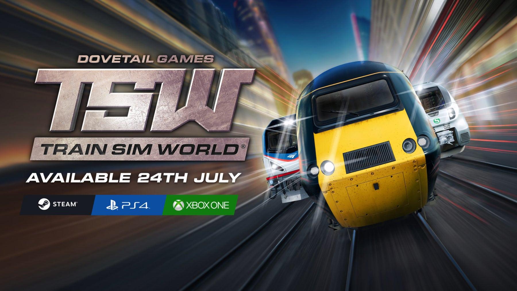 Train Sim World dará a los jugadores de PC y consola la oportunidad de desahogarse este mes de julio